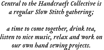 The Handcraeft Collective mission